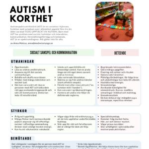 Autism i korthet